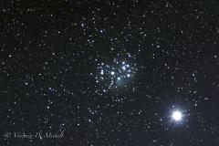 Congiunzione Pleiadi/Venere