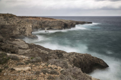 stormy sea, Lampedusa island
