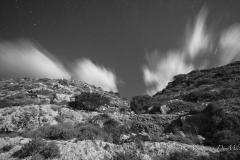 Desert land of Lampedusa